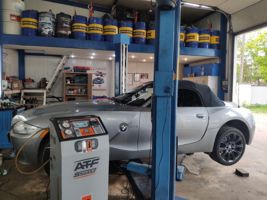 BMW z4 wymiana dynamiczna olej porównanie oleju