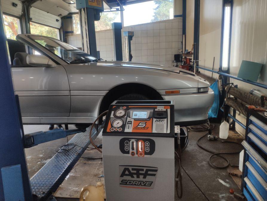 Toyota supra olej przed dynamiczna wymiana