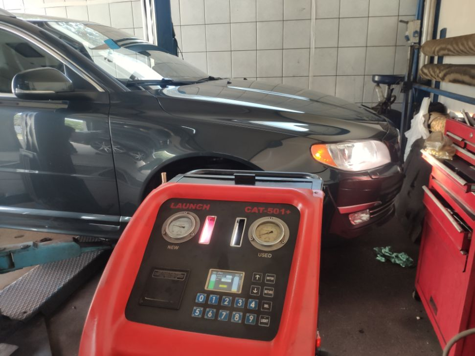 Volvo v70 dynamiczna wymiana oleju