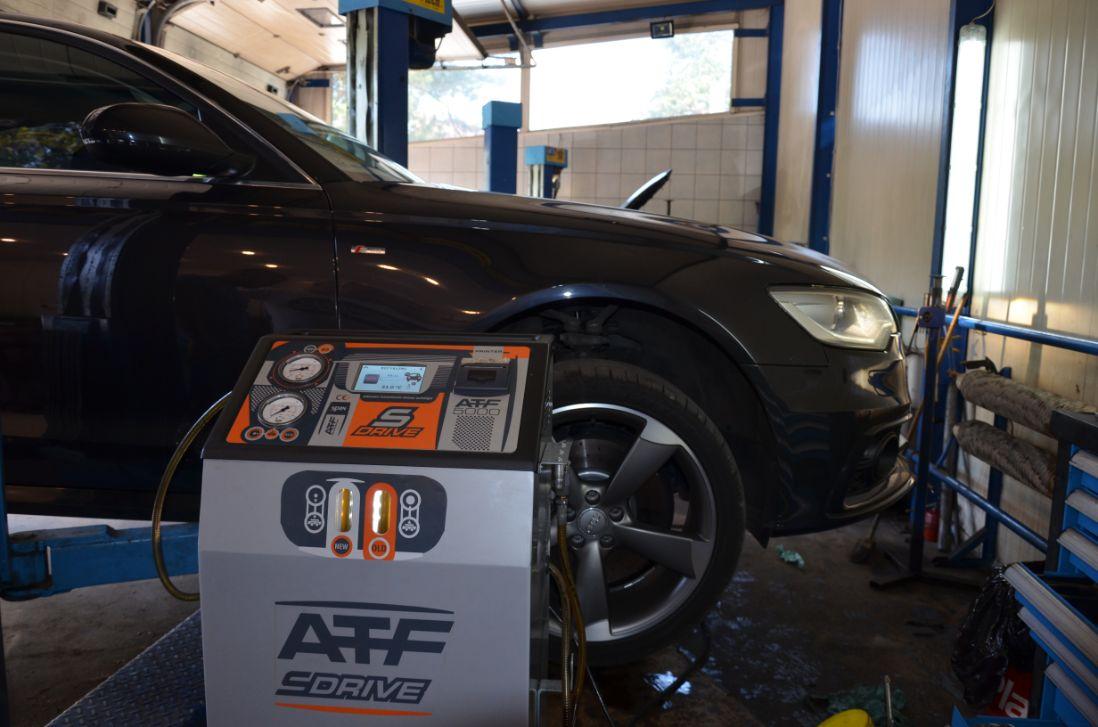 Audi ZF8 olej po wymianie dynamicznej