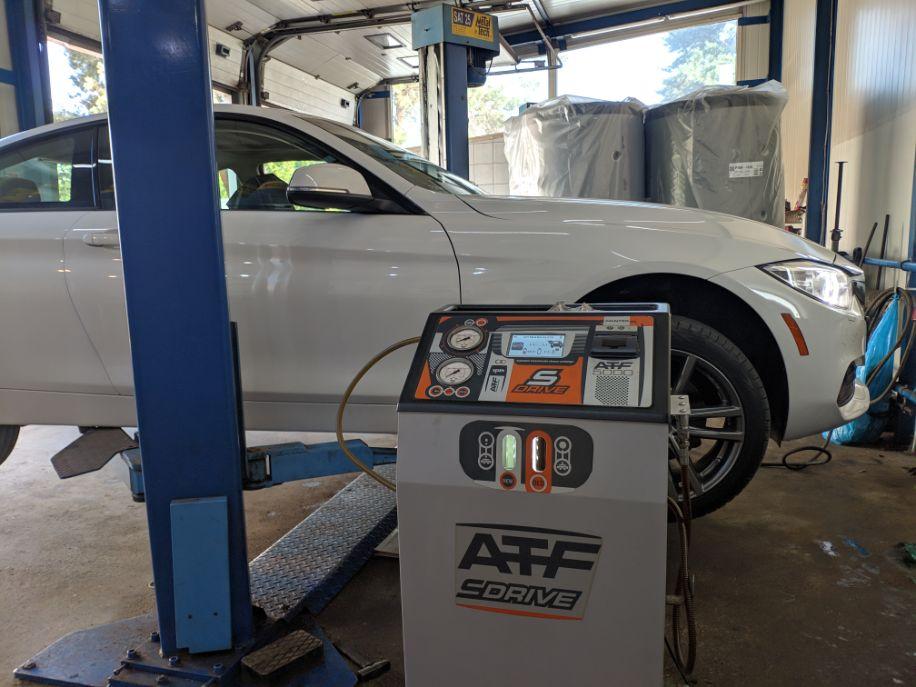 BMW Dynamiczna wymiana oleju przed